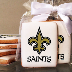 NFL New Orleans Saints Photo Cookies
