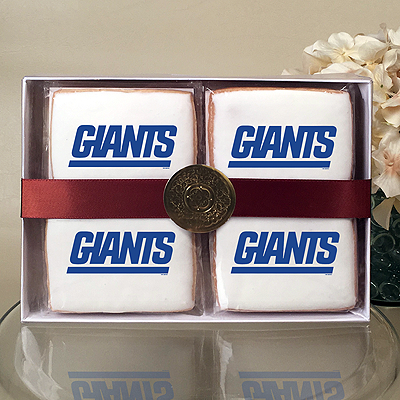 NFL New York Giants Cookie Gift Box