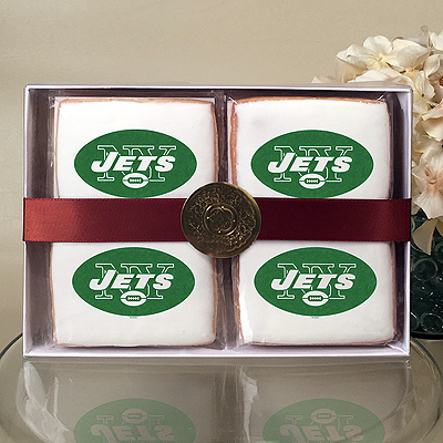 NFL New York Jets Cookie Gift Box