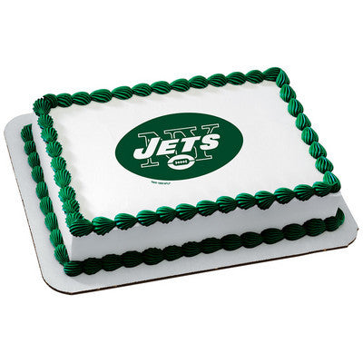 NFL New York Jets Photo Cake