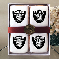 NFL Oakland Raiders Cookie Gift Box