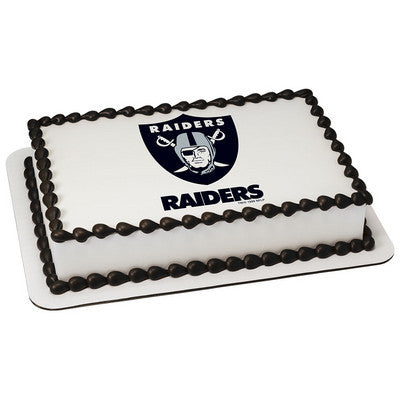 NFL Oakland Raiders Photo Cake
