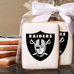 NFL Oakland Raiders Photo Cookies