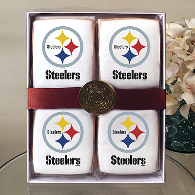 NFL Pittsburgh Steelers Cookie Gift Box
