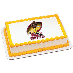 NFL Players Robert Griffin III Photo Cake