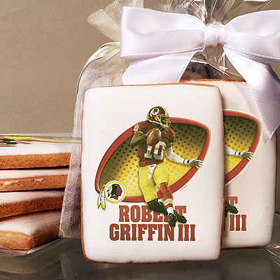 NFL Players Robert Griffin III Photo Cookies