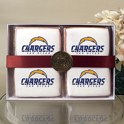 NFL San Diego Chargers Cookie Gift Box