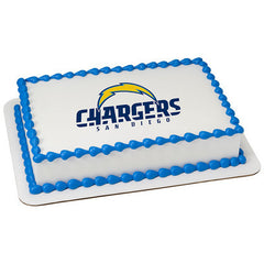 NFL San Diego Chargers Photo Cake