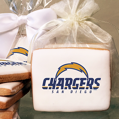 NFL San Diego Chargers Photo Cookies