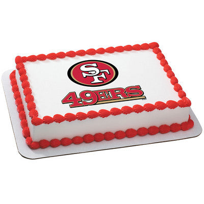 NFL San Francisco 49ers Photo Cake