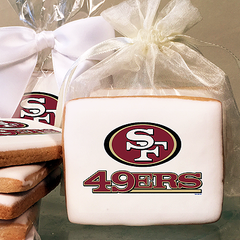 NFL San Francisco 49ers Photo Cookies