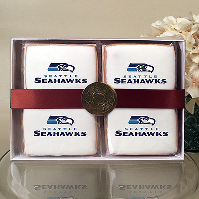 NFL Seattle Seahawks Cookie Gift Box