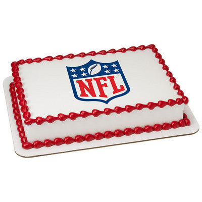 NFL Shield Photo Cake