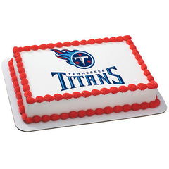 NFL Tennessee Titans Photo Cake
