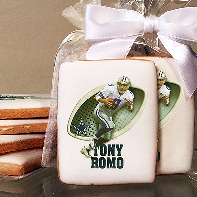 NFL Players Tony Romo Photo Cookies