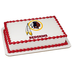 NFL Washington Redskins Photo Cake