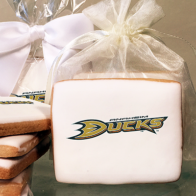 NHL Anaheim Ducks Photo Cookies