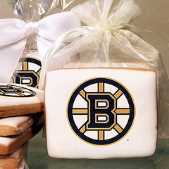 NHL Boston Bruins Photo Cookies