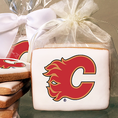 NHL Calgary Flames Photo Cookies