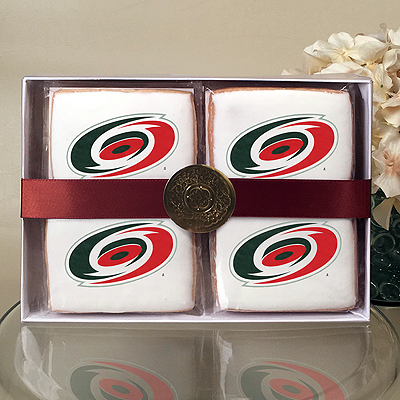 NHL Carolina Hurricanes Cookie Gift Box