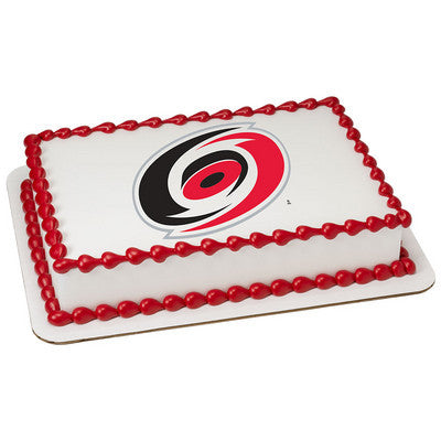 NHL Carolina Hurricanes Photo Cake
