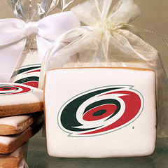 NHL Carolina Hurricanes Photo Cookies