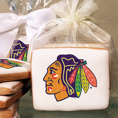 NHL Chicago Blackhawks Photo Cookies