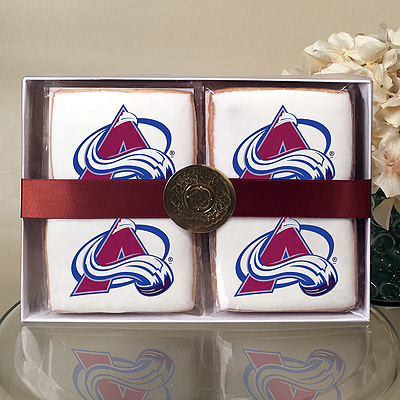 NHL Colorado Avalanche Cookie Gift Box