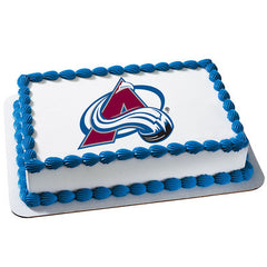 NHL Colorado Avalanche Photo Cake