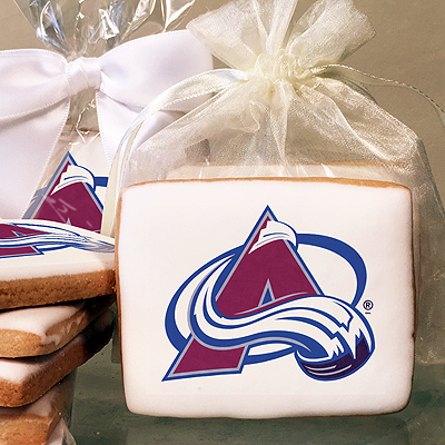 NHL Colorado Avalanche Photo Cookies