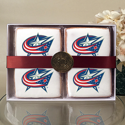 NHL Columbus Blue Jackets Cookie Gift Box