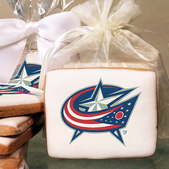 NHL Columbus Blue Jackets Photo Cookies