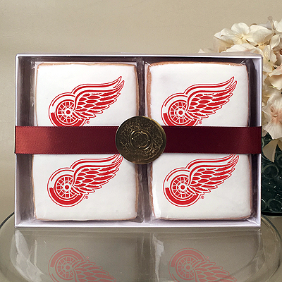 NHL Detroit Red Wings Cookie Gift Box