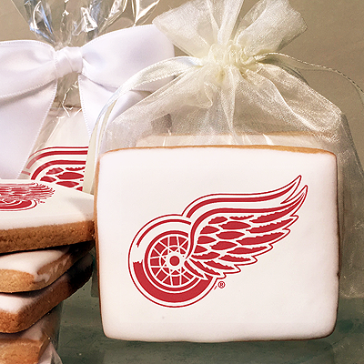 NHL Detroit Red Wings Photo Cookies