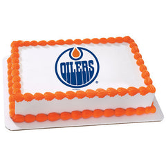NHL Edmonton Oilers Photo Cake