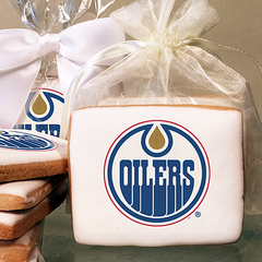 NHL Edmonton Oilers Photo Cookies