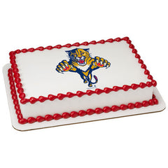 NHL Florida Panthers Photo Cake