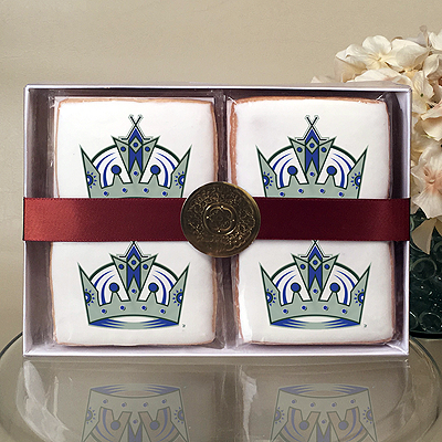NHL Los Angeles Kings Cookie Gift Box