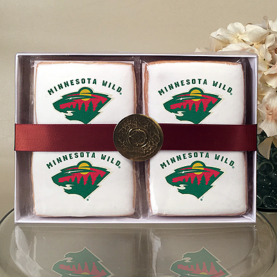 NHL Minnesota Wild Cookie Gift Box