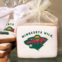 NHL Minnesota Wild Photo Cookies