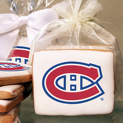 NHL Montreal Canadiens Photo Cookies