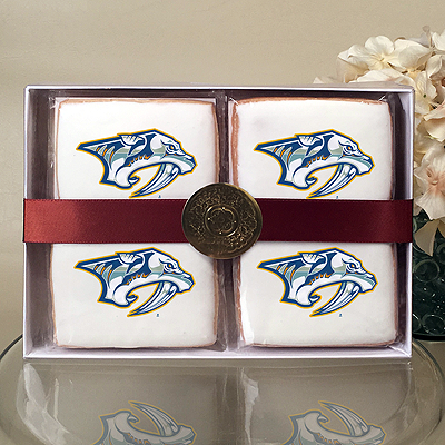 NHL Nashville Predators Cookie Gift Box