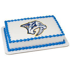 NHL Nashville Predators Photo Cake