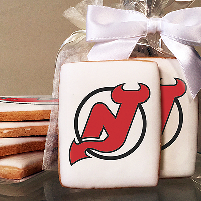 NHL New Jersey Devils Photo Cookies