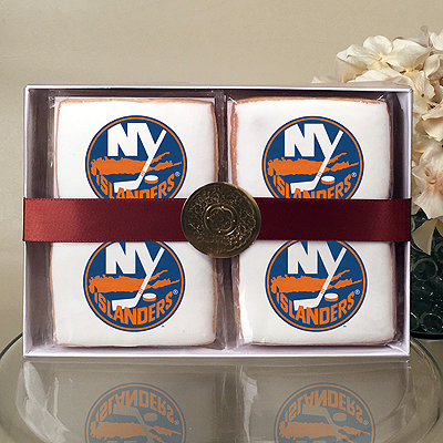 NHL New York Islanders Cookie Gift Box