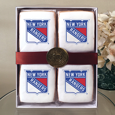 NHL New York Ranger Cookie Gift Box