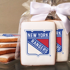NHL New York Ranger Photo Cookies