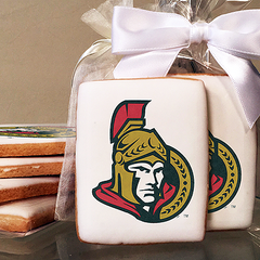 NHL Ottawa Senators Photo Cookies
