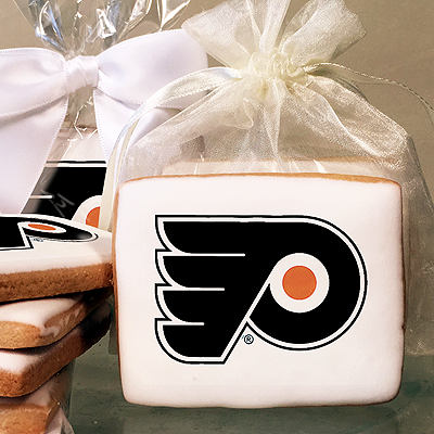 NHL Philadelphia Flyers Photo Cookies