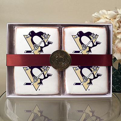 NHL Pittsburgh Penguins Cookie Gift Box